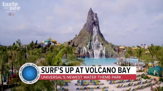 Check out the rides at Universal Orlando-s Volcano Bay-