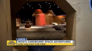 MOSI debuts cardboard space exhibit