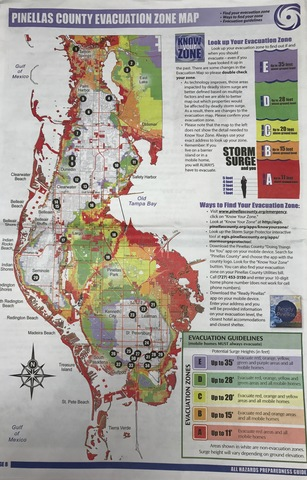 pinellas county evacuation zones changing abcactionnews wfts tv