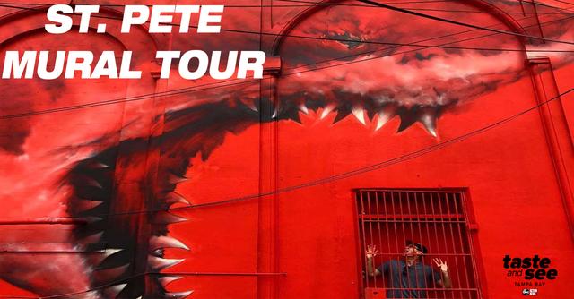Instagram hotspot- Amazing mural art showcased on St- Pete walking tour