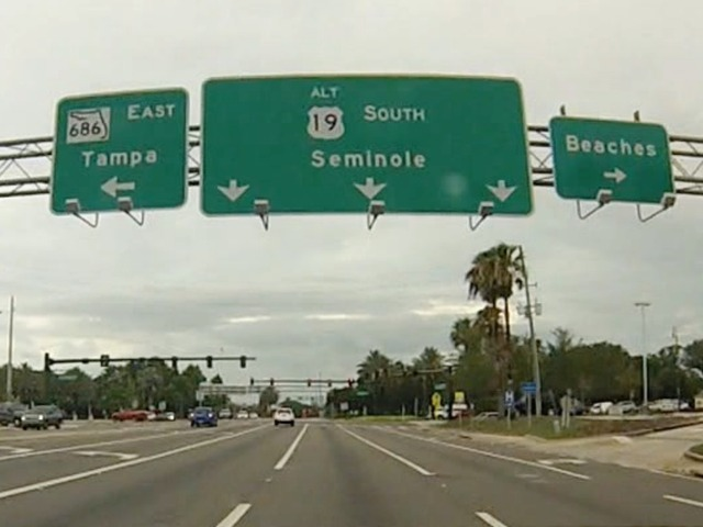 FDOT Wants Public Input On Changes To Alt US To Make The Road - Map alt us 19 pinellas county