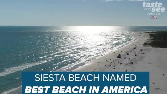 Florida-s Siesta Beach named best beach in US
