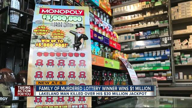Woman linked to slain lottery winner wins $1 million herself