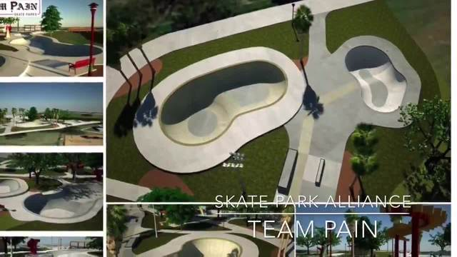 St. Petersburg is breaking ground on a $1.25 million at Campbell Park near Tropicana field.