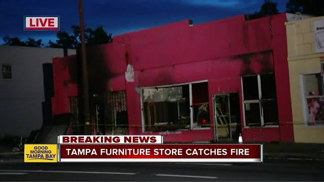 Overnight Fire Destroys Southern Used Furniture Store In
