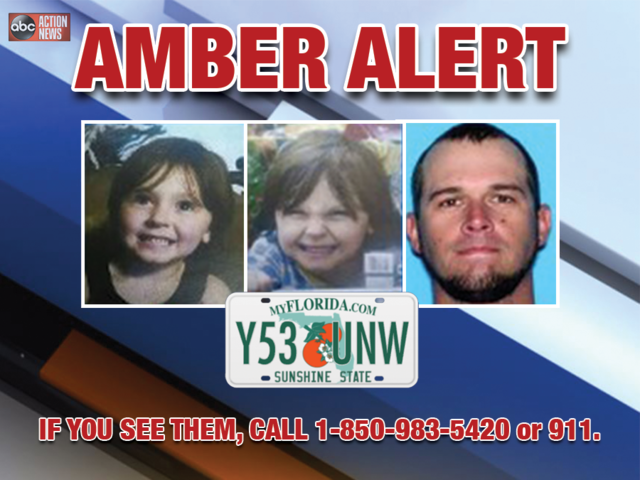 Florida Amber Alert issued for 4-year-old panhandle girl