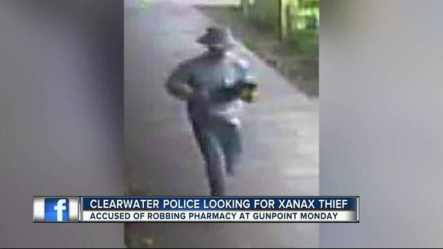 Police- Armed robber stole drugs from pharmacy
