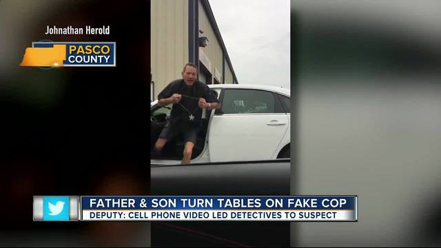 Cell phone video leads to arrest of Pasco man for impersonating a law…
