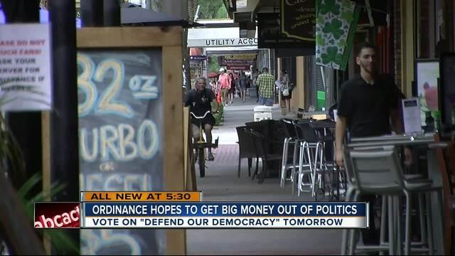 St- Pete council set to debate -Defend our Democracy- ordinance
