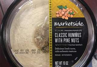 Hummus recalled over possible listeria