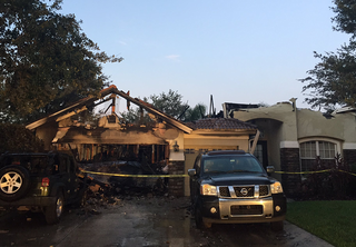 House fire displaces family of 5 in New Tampa