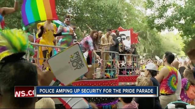Police amp up security for St- Pete Pride