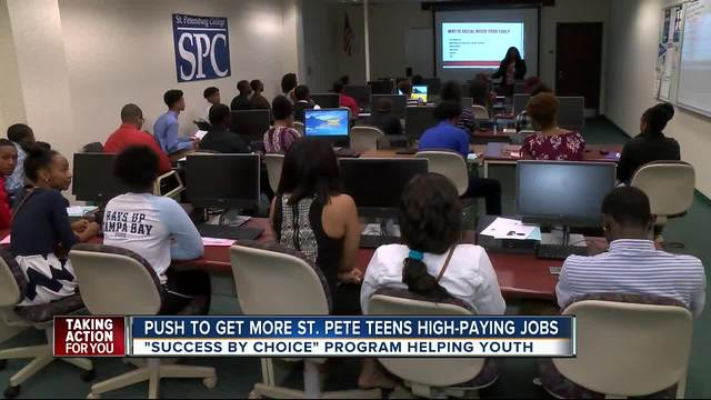 St- Pete young adults getting big job opportunities