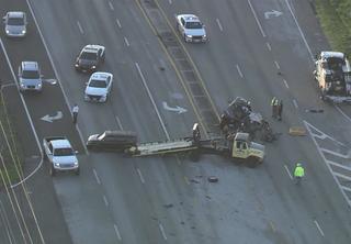 Lanes open following crash on SR 60 in Brandon