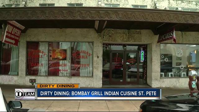Dirty Dining- Bombay Grill Indian Cuisine shut down for 700- rodent…