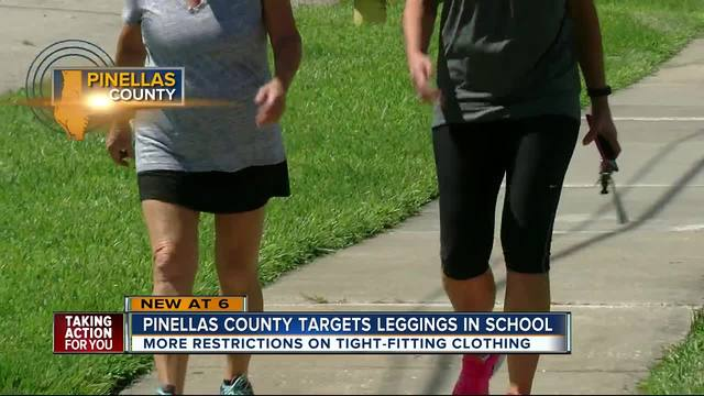 Pinellas Schools aims to crack down on leggings