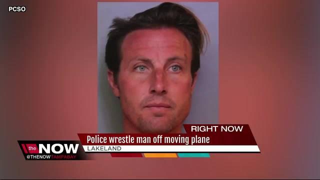 Florida man steals van- tries to board airplane in Lakeland