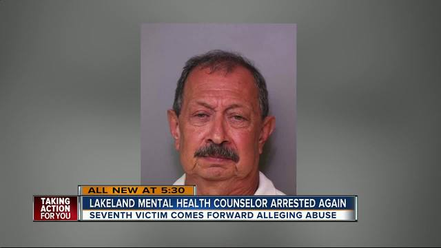Therapist arrested again for sexual misconduct