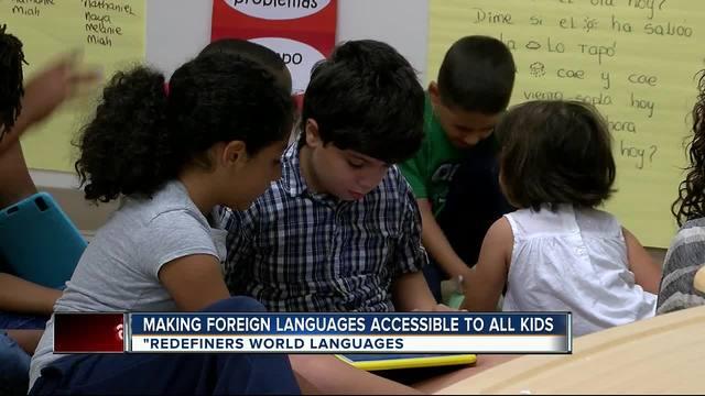 Program aims to teach kids multiple languages
