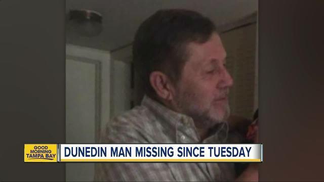 Deputies search for missing endangered elderly man in Dunedin