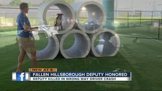 Dog park dedicated to deputy killed 2016 crash
