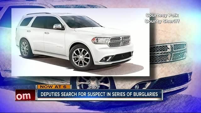 Search for burglary suspect