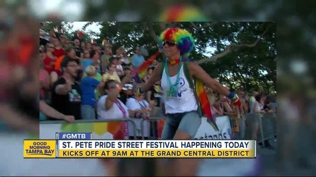 St- Pete Pride Street Festival on display in familar spot