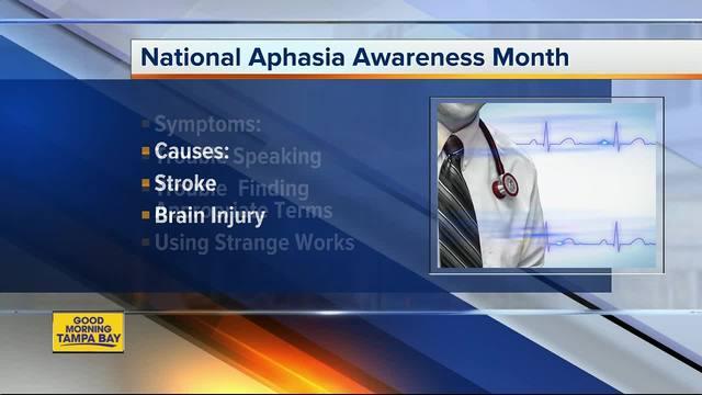 South Florida Baptist Hospital helps spotlight National Aphasia Awareness Month
