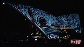 WATCH | Sydney Opera House indigenous light show