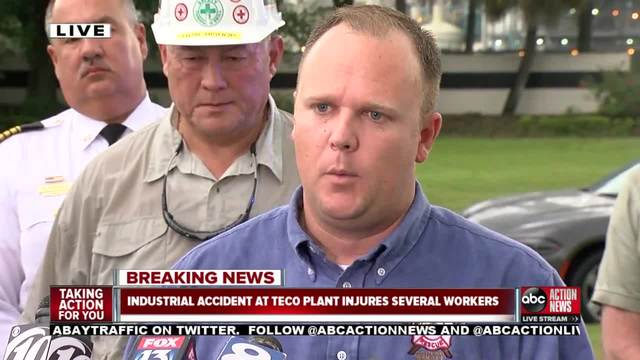 Explosion inside Florida power plant kills 2 workers, critically injures 4 others