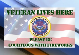 Fireworks can be traumatic for vets with PTSD