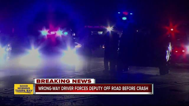Wrong-way driver misses Hernando deputy, crashes into another vehicle, 2 dead