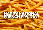National French Fry Day: Get FREE fries