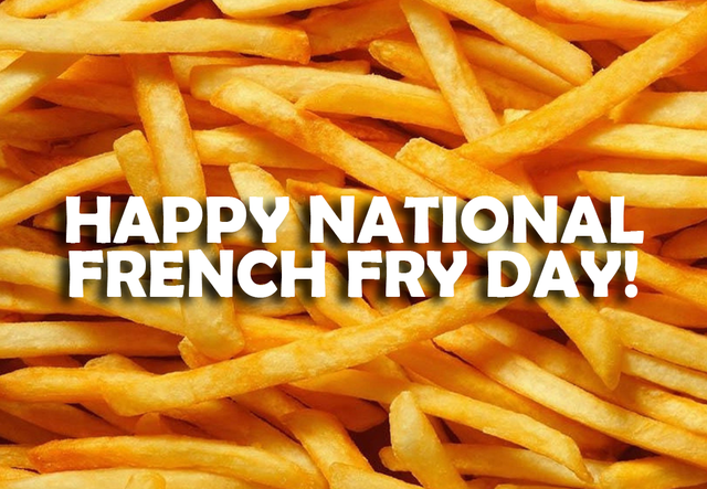 national french fry day - photo #29