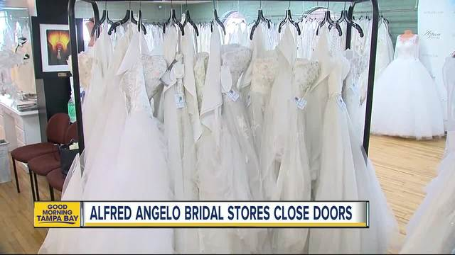 Brides panic as popular bridal shop Alfred Angelo abruptly closes
