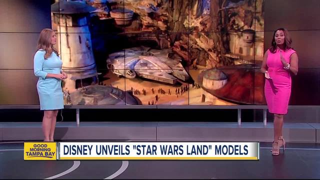 New Model for Star Wars Themed Parks Are at D23