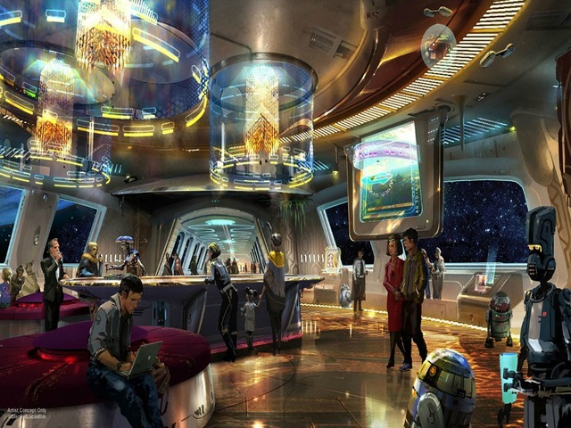 New Star Wars-themed hotel will offer guests immersive space adventures
