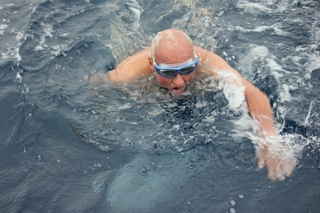 87YO attempting swim from Alcatraz to San Fran