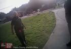 Video shows deputies responding to sinkhole