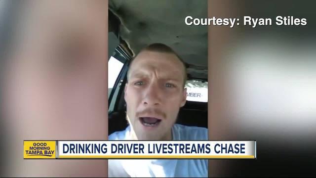 Florida man streams dangerous beach ride on Facebook Live