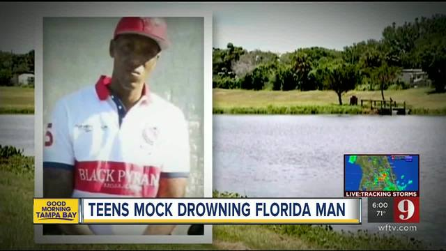 Teens who filmed and mocked drowning man 'unlikely to face charges'