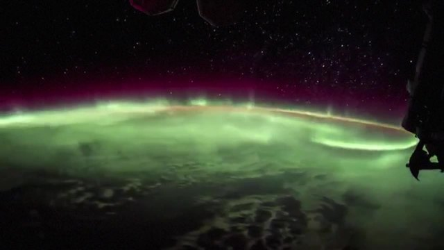 NASA astronaut shares spectacular display of northern lights