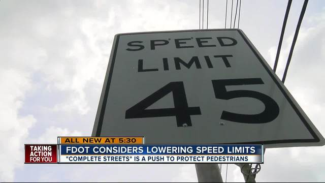 FDOT looks to lower speed limits across Tampa Bay in effort to save lives