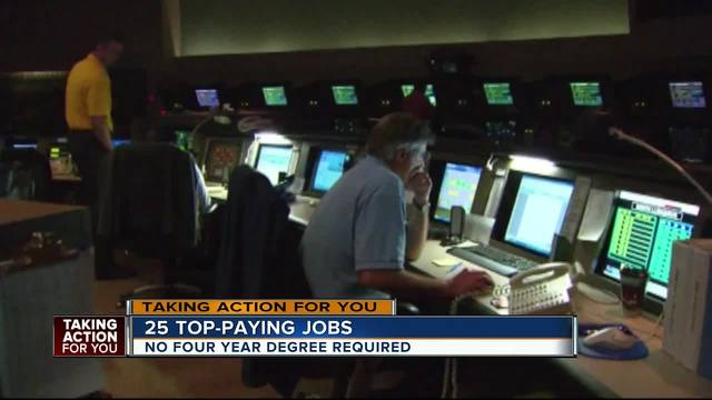 Top paying jobs that don-t require a 4 year degree
