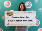18-year-old wins $500 a week for life in lottery