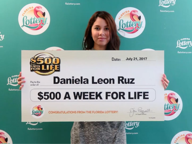 Florida Lottery: Teen wins $26k salary for life