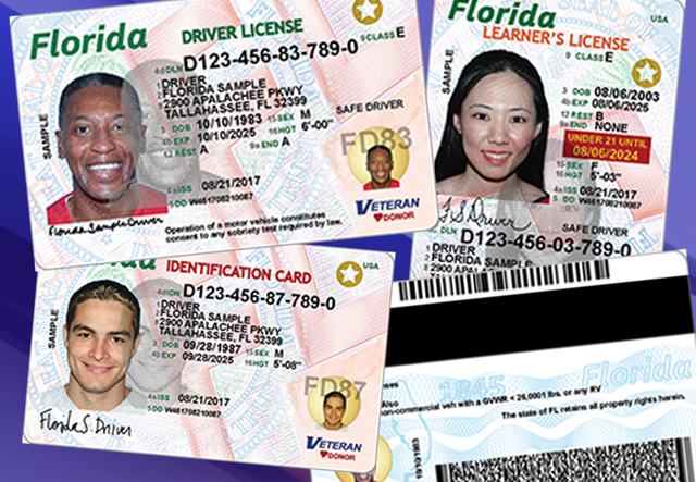 Florida Learners Permit >> Florida Driver S Licenses And Identification Cards Getting New Look