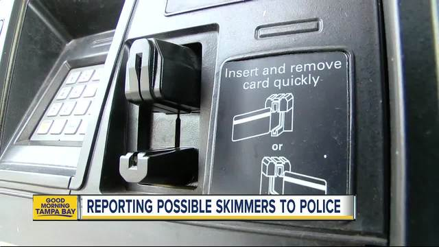 Credit card skimmers on the rise- but most people don-t report to police