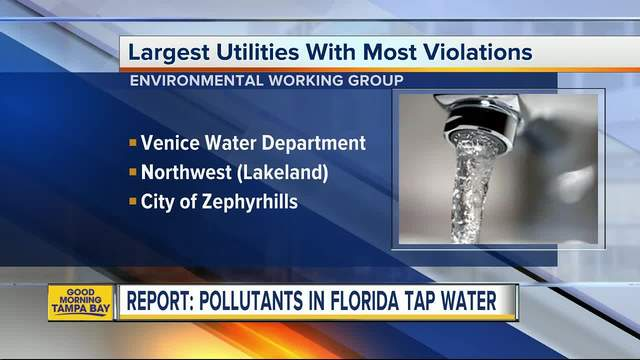 Is your drinking water safe- New tool lets you check pollutants in your…