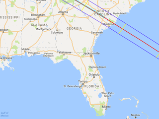 Eclipse times by location in Tampa Bay Area